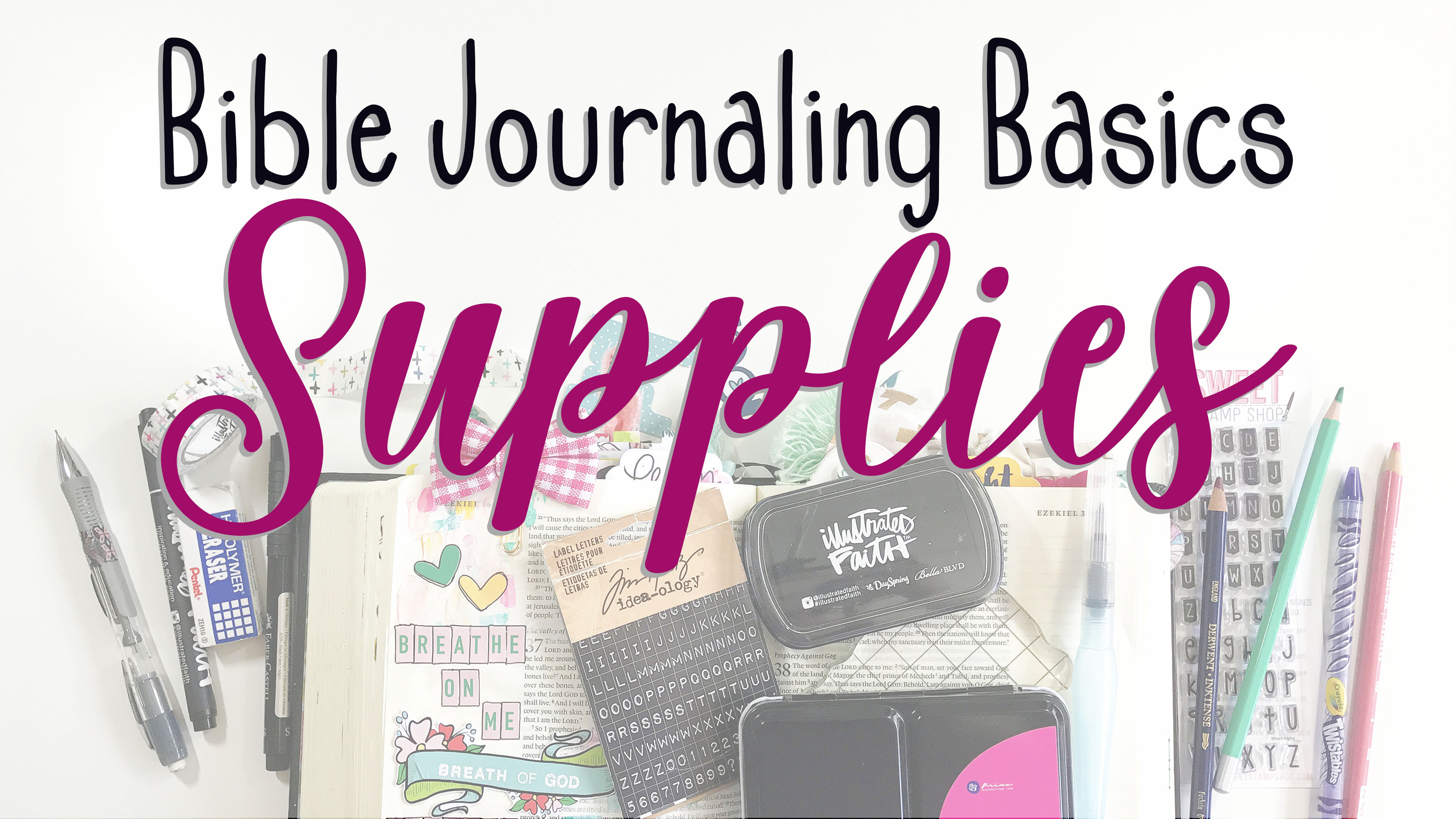 Bible Journaling Basics | Supplies – Lindsey Decor