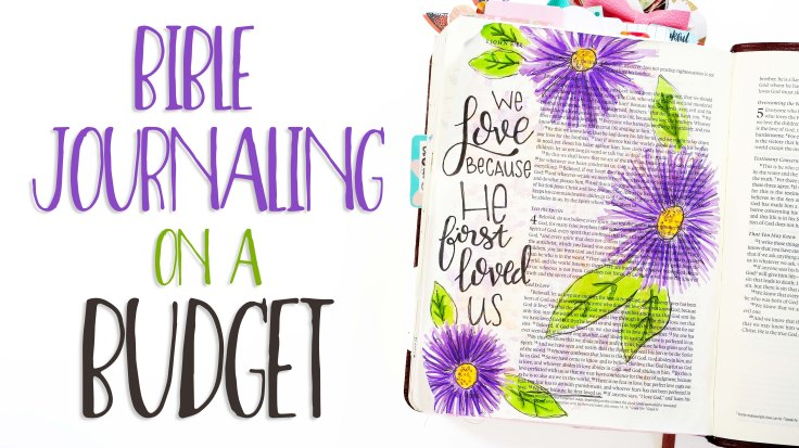 Bible Journaling On A Budget I Crayola Markers