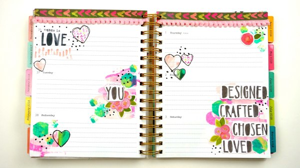 DaySpring and Illustrated Faith Faith Planner
