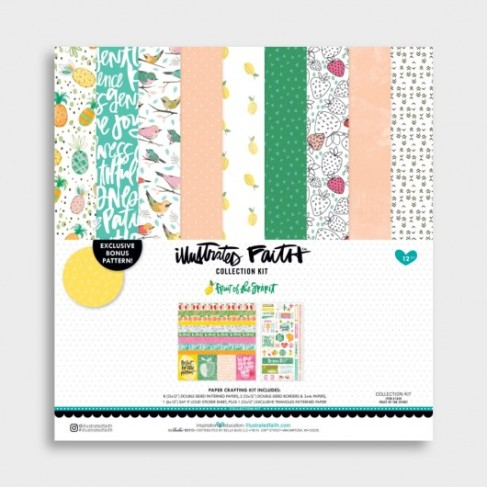 New collection from Illustrated Faith and Dayspring Fruit of the Spirit #biblejournaling #faithart