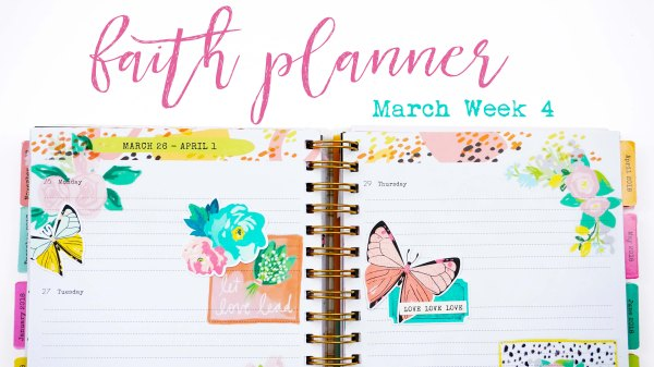 DaySpring Faith Planner with Illustrated Faith and Maggie Holmes pieces