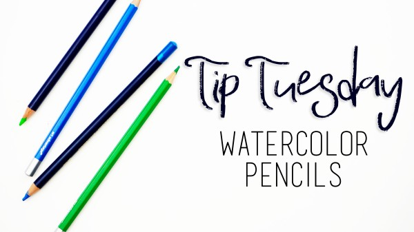 Tip Tuesday Watercolor Pencils #biblejournaling #faithart inktense