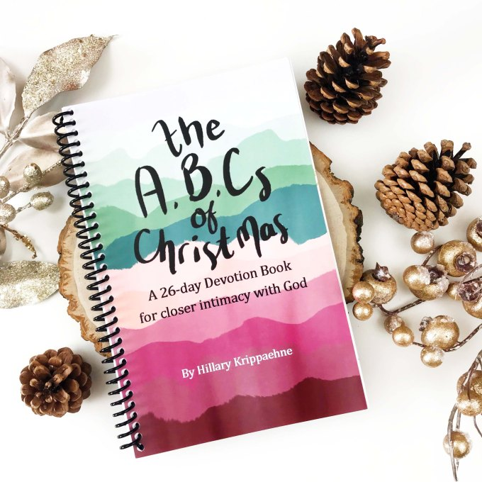 The ABCs of Christmas Devotional Book