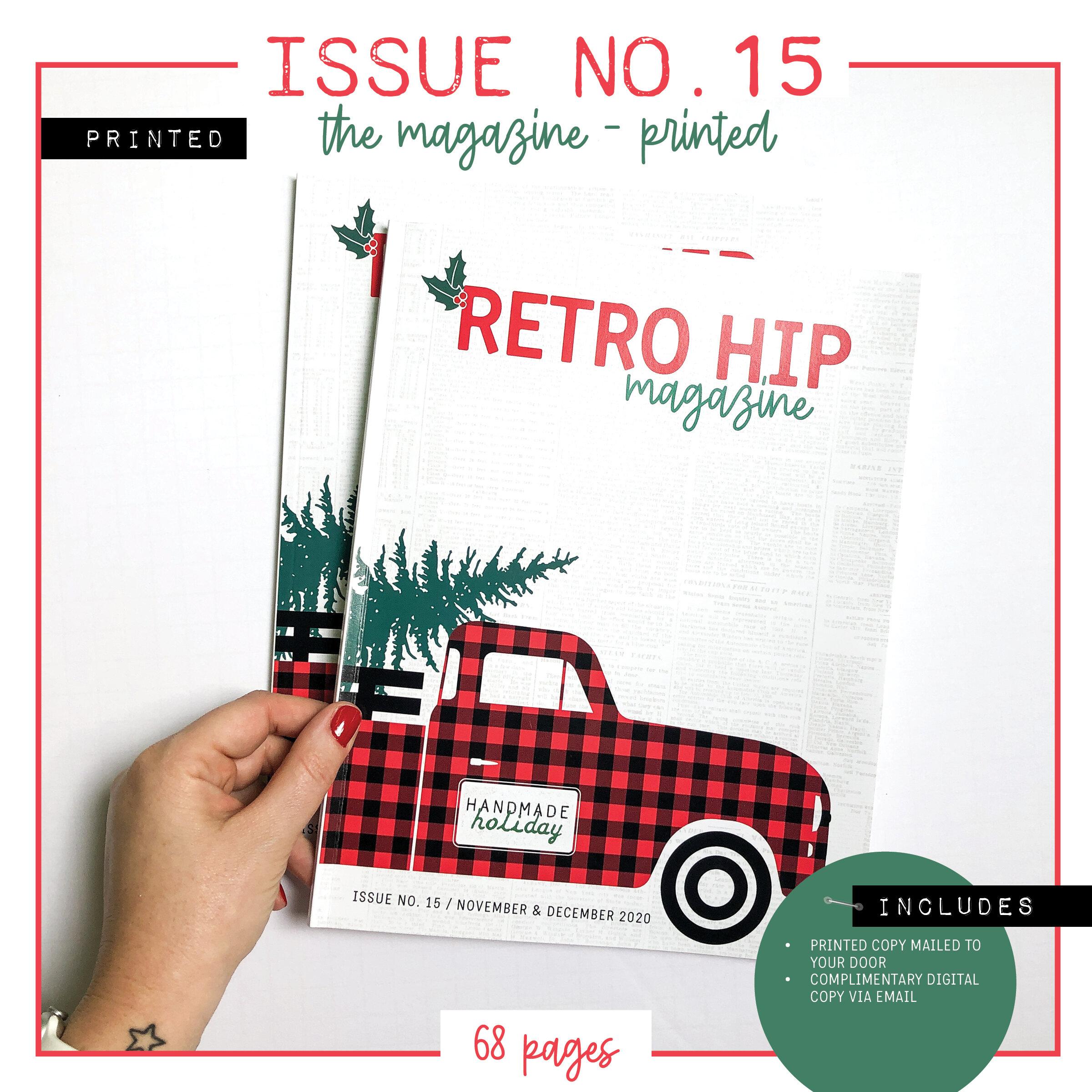 RetroHip Magazine Issue 15